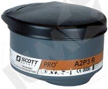 Pro2 A2P3 kombifilter t/Profile2, sort, 2 stk
