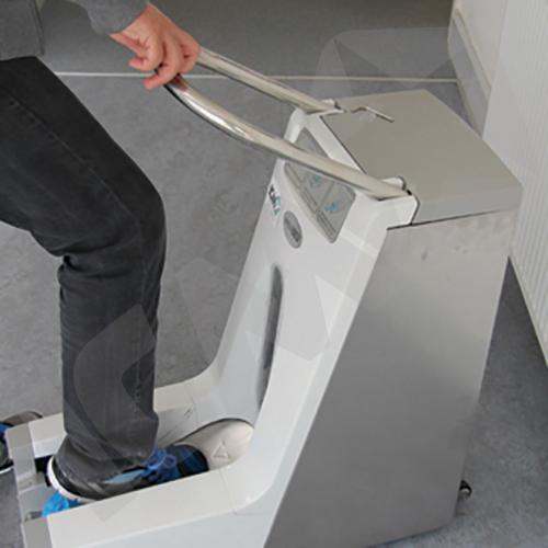 Hygomat dispenser t/skoovertræk, Cleanroom