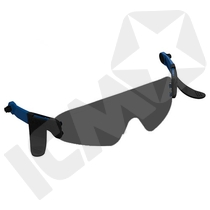 Centurion Nexus Integrerede Mørke Briller Til Sikkerhedshjelme