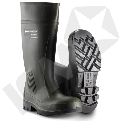 427b71be39e5 Dunlop Purofort S5 gummistøvler grøn