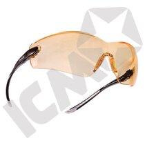 COBRA wrap around sikkerhedsbrille gul linse