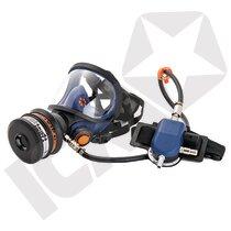 Sundstrøm SR 200AL-A helmaske t/trykluft, glasrude