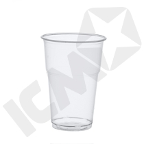 Plastglas 0,4l komposterbart 70 stk
