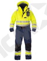 Ki-Suit 150/165 Redningsdragt med Selvoppustelig Vest