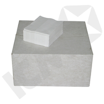 BlueStar Linttex 1/4-Foldet Hvid 36,5 x 30 cm 500 ark