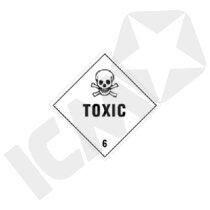 132297MF Toxic gas kl. 6 faresedde  250x250mm