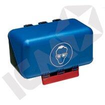 Secu-Box Mini Opbevaring Til Briller Blå