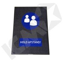 """BlueStar Entremåtte """"HOLD AFSTAND"""""""