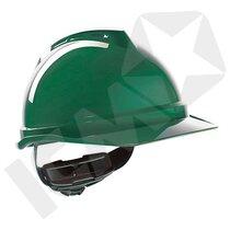 MSA V-Gard 500 Hjelm med Ventilation & Fas-Trac 3 Håndhjul