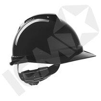 MSA V-Gard 500 Hjelm med Fas-Trac 3 Håndhjul (uden Ventilation)