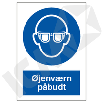 P202VA5 Øjenværn påbudt  A5