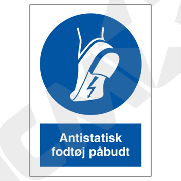 P209PA4 Antistatisk fodtøj påbudt  A4